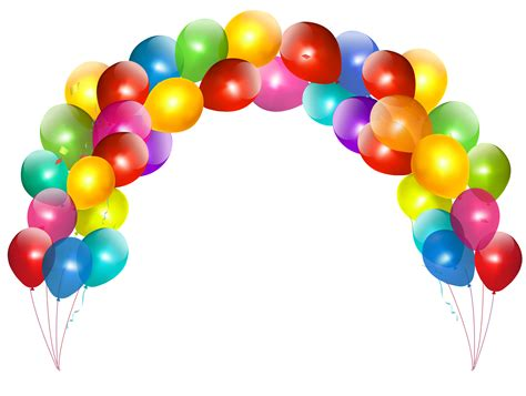 best balloons balloon arch png picture clipart best clipart best