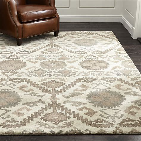 orissa rug crate and barrel orissa neutral wool rug crate and barrel