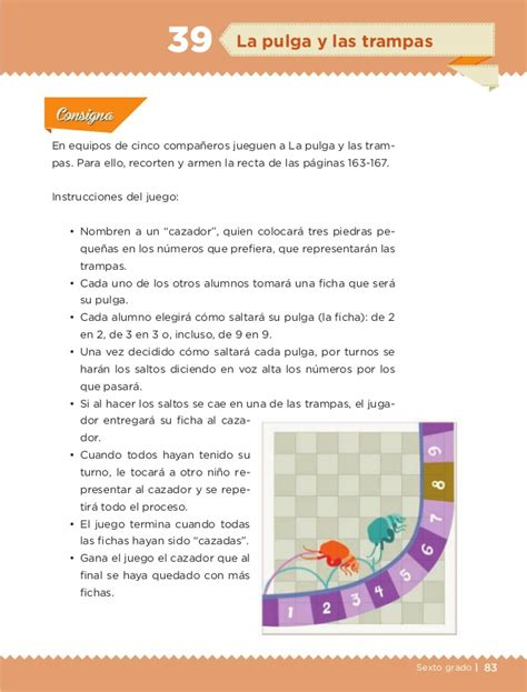libro juegos matemticos y de libro de texto desafios matematicos 6to alumno 2014 2015