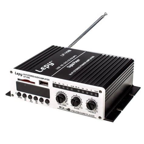 Power Stereo lepy lp v9s 2x 20w 2ch hi fi stereo digital power