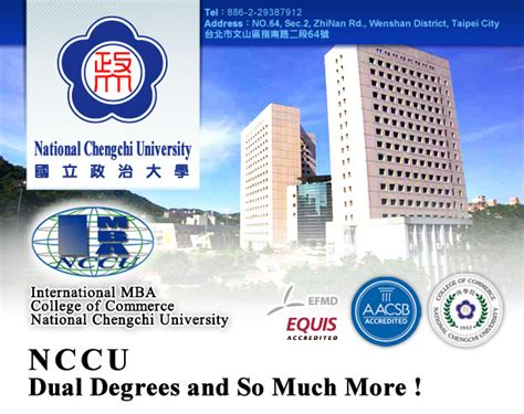 Chengchi Mba by College Chengchi College Of Commerce