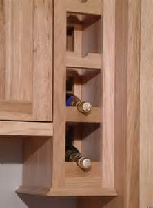 Kitchen Cabinets Wine Rack by Kitchen Cabinet Accessories Amish Made Heirlooms