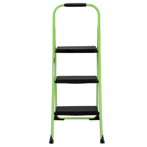 3 step steel step stool cosco 3 step steel big step folding step stool type 3 with