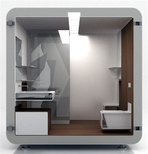 bathroom box modular bathroom is low on space but high on efficiency