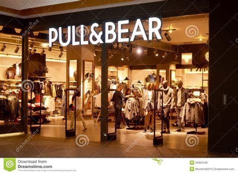 pull and bear pull bear clothing store editorial photo image 34352446