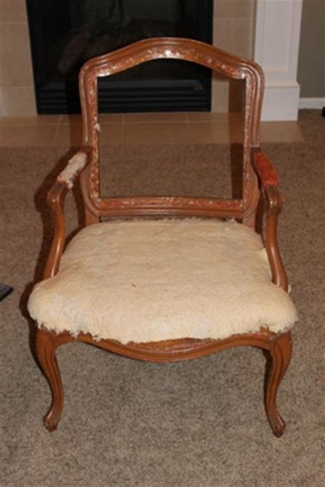 Recover Armchair by How To Reupholster A Chair House