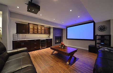 home theater ideas basement trellischicago