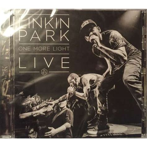 linkin park vinyl one more light one more light live by linkin park cd with techtone11