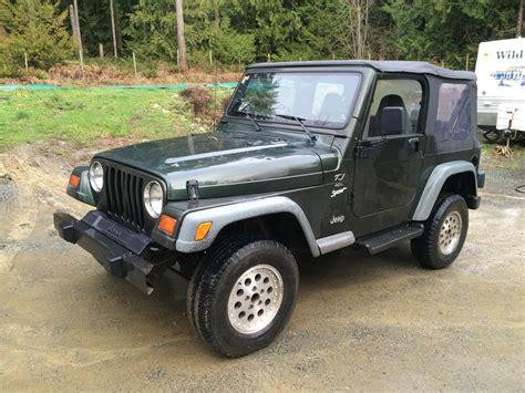 Jeep 4x4 Price 1998 Jeep Tj Sport 4x4 Price Drop Outside Nanaimo