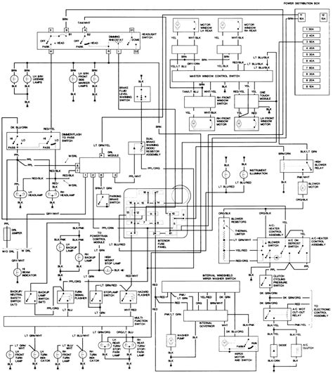 1995 f150 headlight switch wiring diagram k