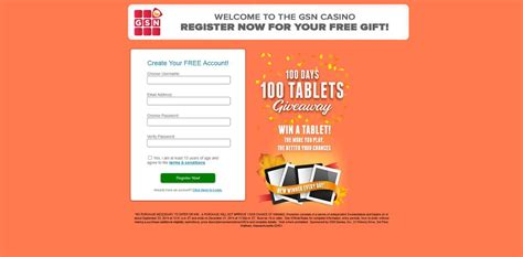Gsn Sweepstakes - gsn 100 days 100 tablets giveaway win a tablet