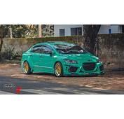 Mint Green Honda Civic K Break From Kerala – ModifiedX