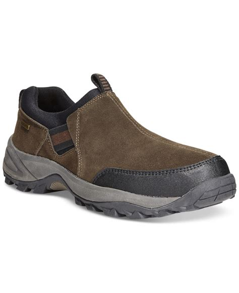 khombu boots mens khombu s casual waterproof boots in brown for lyst
