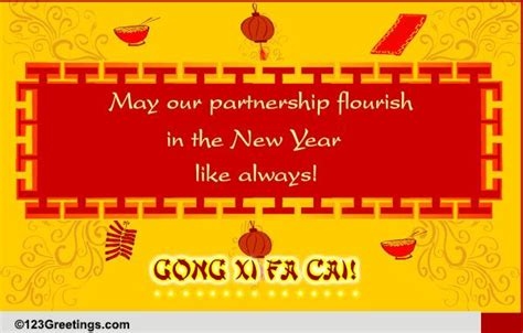 wish your business partner free formal greetings ecards