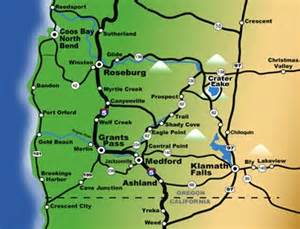 southern oregon map southern oregon real estate grants pass oregon real estate