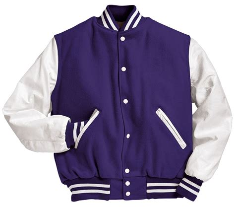 high quality mens casual classic simple design letterman design varsity jacket by holloway mens