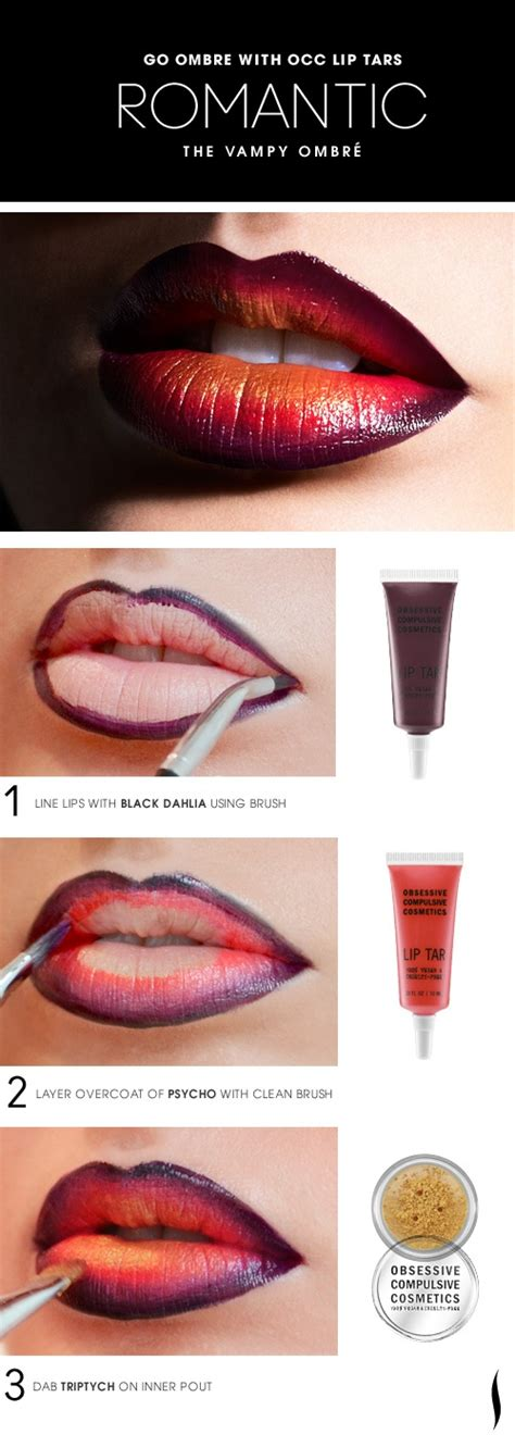 ombre lip tutorial makeup tutorial vy ombre lips how to xoxo emmy