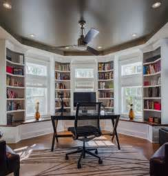 wonderful Bookshelf Design With Study Table #5: home-study-with-beautiful-bookcases.jpg