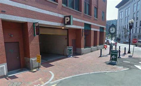 End Boston Parking Garage by Boston Parking Garages Near Aquarium