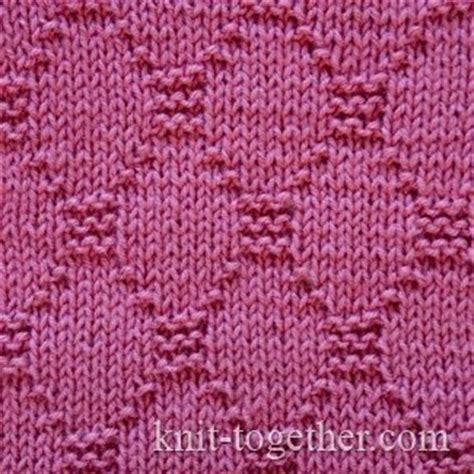 diamond pattern in knitting knit together diamond stitch pattern 2 knitting pattern
