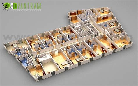 3d office floor plan look for price structure quantative quotes for