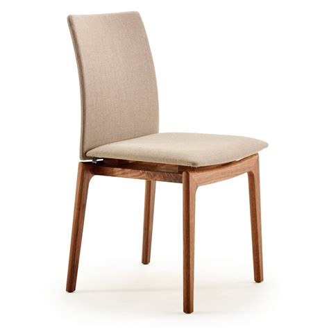 Wooden Dining Chairs Uk Skovby Sm63 Wooden Upholstered Back Dining Chair