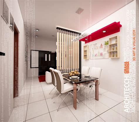 desain interior ruang makan minimalis home and architecchi arsitek desain interior arsitek interior