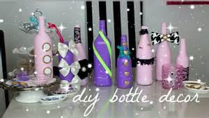 Diy wine bottle decor youtube
