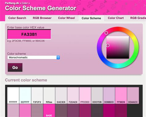 5 free color palette generators for your projects