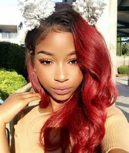hairstyles with color for black 20 red natural hair colors you cannot miss this summer