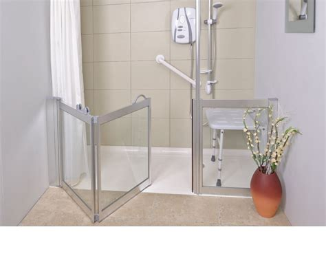 Contour Showers Uk Specialists In Disabled Showers Half Height Shower Doors