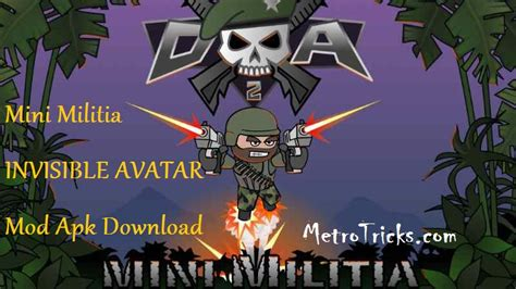 download game avatar online mod for android mini militia invisible avatar mod apk download no root