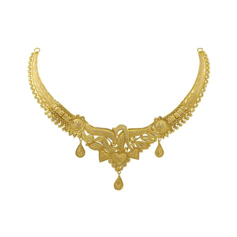 Gold Necklace gold necklaces buy hridya gold necklace of article