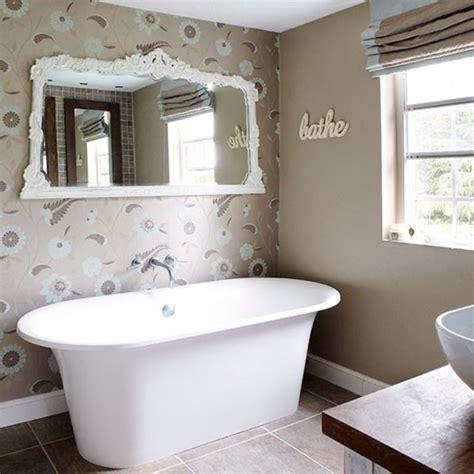 bathroom with wallpaper ideas 15 gorgeous bathroom wallpaper design ideas rilane