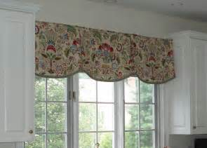 Kitchen Curtain Valance You To See Kitchen Scalloped Valance On Craftsy