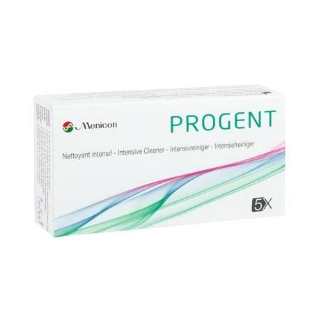 Menicon Progent Intensive Cleaner by Progent Intensive Cleaner For Hart Contact Lenses
