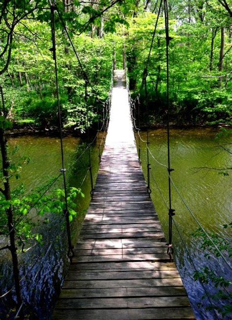 the swinging bridge the swinging bridge bluffton ohio swinging bridges