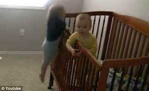 Baby Falls Out Of Crib Baby Dayne Escapes From His Crib Then Destroys The