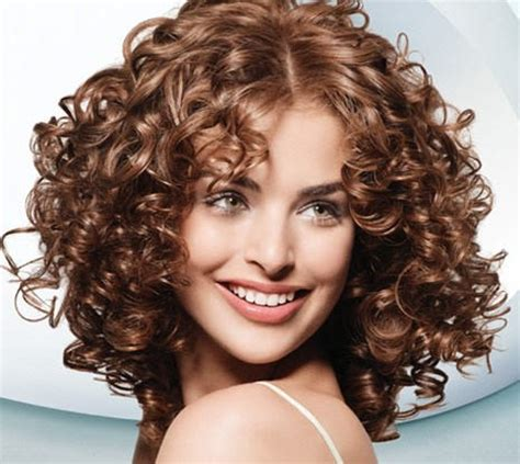 spiral hairstyles with bangs dashing spiral perm hairstyle