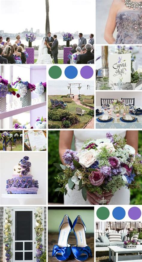 1000  images about Purple/blue wedding palette on