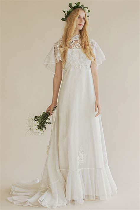 Vintage 70s Wedding Dresses by The 6 Prettiest 70s Inspired Wedding Dresses Princessly