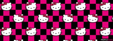 hello kitty themes black and pink pink and black hello kitty background