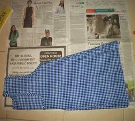 cara membuat jemuran baju sendiri cara mudah membuat pola baju sendiri zona kreatif