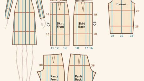 pattern grading amazon quick reference for cut and spread pattern grading threads