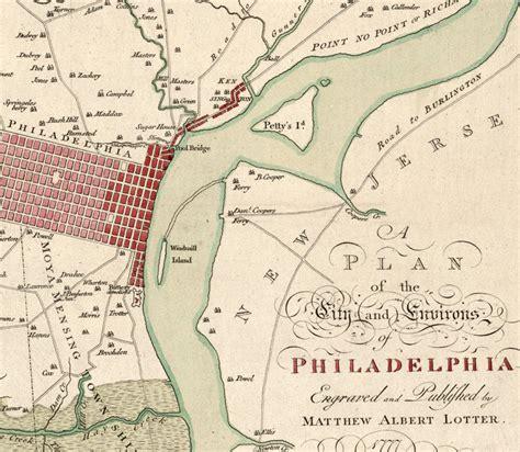 antique map of philadelphia map of philadelphia 1777 maps and vintage prints
