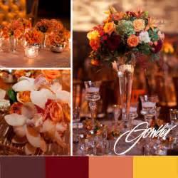 fall wedding color palette slweddings secondlife weddings