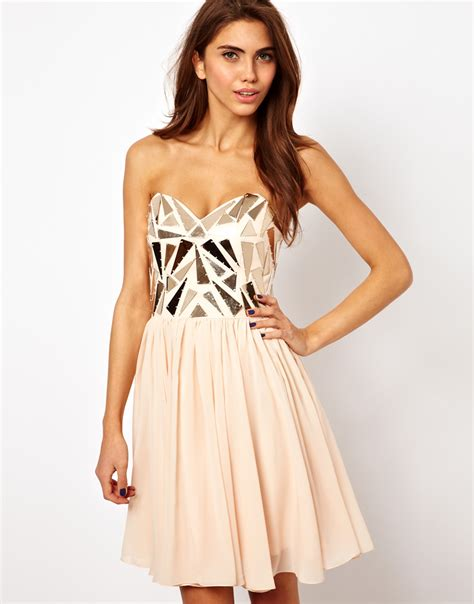 Opulence Clothing Store Opulence Dress With Metal Trim From Asos Dresses