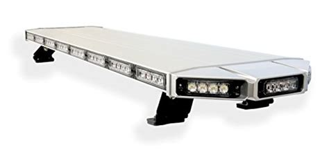 roof mounted amber flashing lights thundereye 48 inch low profile roof mount emergency
