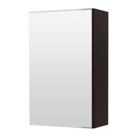 bathroom mirrors at ikea lill 197 ngen mirror cabinet with 1 door black brown ikea