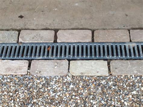 Drain In Front Of Garage Door recessed drain cover polley garden design